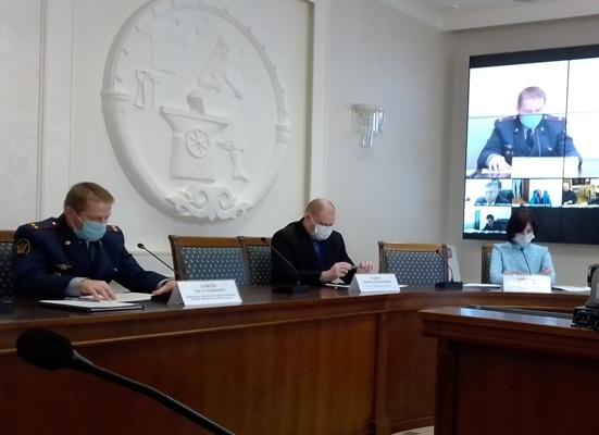 Сотрудники УФСИН России по Республике Адыгея приняли участие в совещании при премьер-министре республики