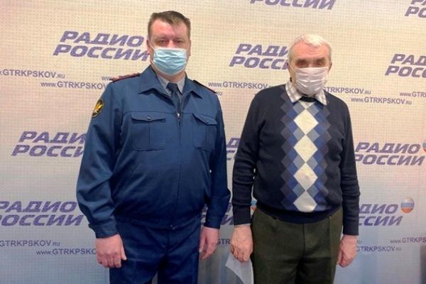 Особенности несения службы в подразделении по конвоированию уголовно-исполнительной системы Псковской области обсудили на радиостанции «Радио России - Псков»