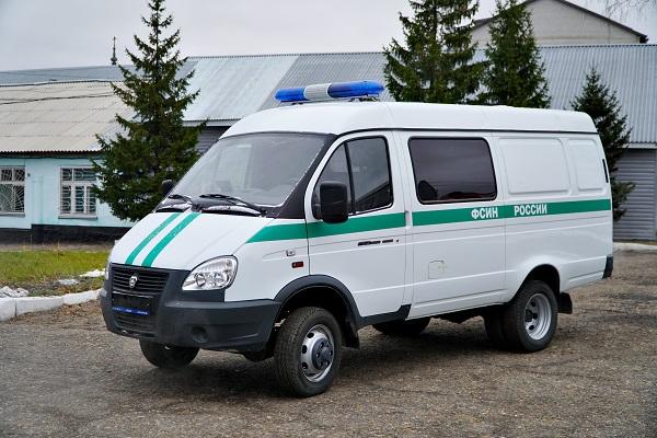 Автопарк КТБ-12 УФСИН России по Алтайскому краю пополнился специализированным медицинским автомобилем