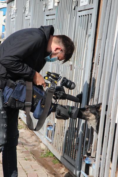 Журналисты побывали в гостях у четвероногого новобранца в СИЗО–5 УФСИН России по Республике Башкортостан
