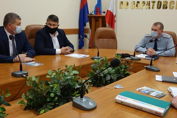 В УФСИН России по Саратовской области в формате конструктивного диалога прошла рабочая встреча с представителями бизнес-сообщества