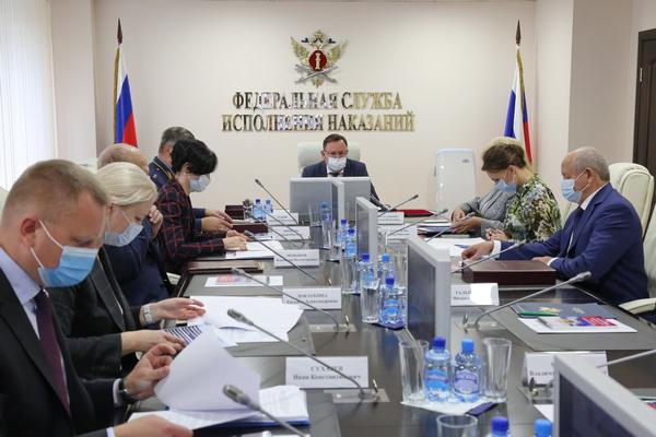 Состоялось заседание коллегии ФСИН России по вопросу «О мерах, принимаемых по соблюдению прав человека в учреждениях уголовно-исполнительной системы Российской Федерации»