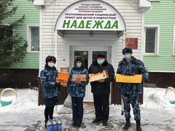 Сотрудники СИЗО-1 УФСИН России по Республике Мордовия посетили Республиканский социальный приют для детей и подростков