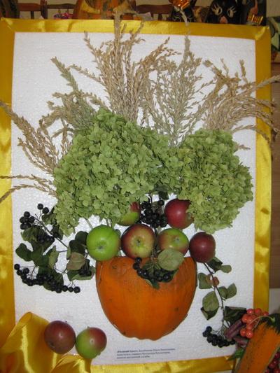 Экибана своими руками фото из овощей