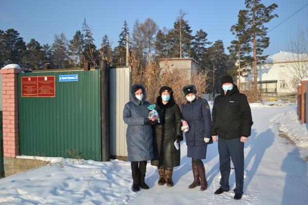 Сотрудники УФСИН России по Республике Бурятия оказали благотворительную помощь детскому дому-интернату «Журавушка»