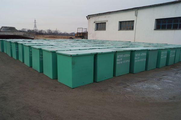 В учреждениях ГУФСИН России по Приморскому краю изготовлено почти 6000 контейнеров ТБО для городов и муниципальных районов края