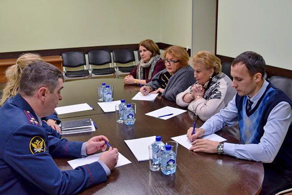 Уполномоченный по правам человека в Москве Татьяна Потяева с рабочим визитом посетила СИЗО-1 УФСИН России по г. Москве