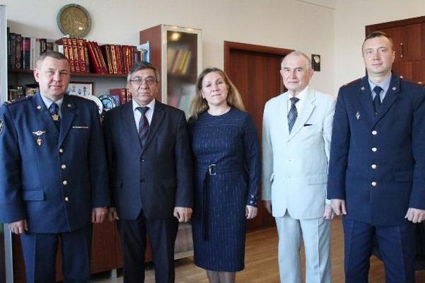 УФСИН России по Чувашской Республике-Чувашии подписал соглашение о сотрудничестве с Чебоксарским кооперативным институтом