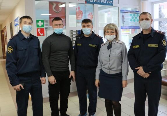 К акции по сдаче донорской крови присоединились сотрудники уголовно-исполнительной системы Еврейской автономной области