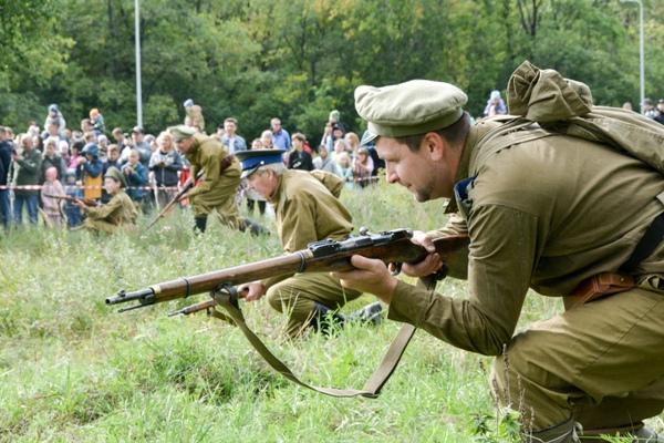 Представитель Совета ветеранов ГУФСИН России по Свердловской области принял участие в военно-историческом фестивале