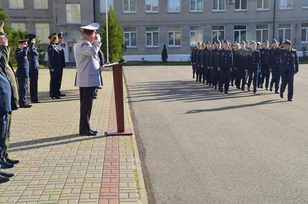 В Университете ФСИН России прошла торжественная церемония, посвященная открытию первого в истории Университета учебного года
