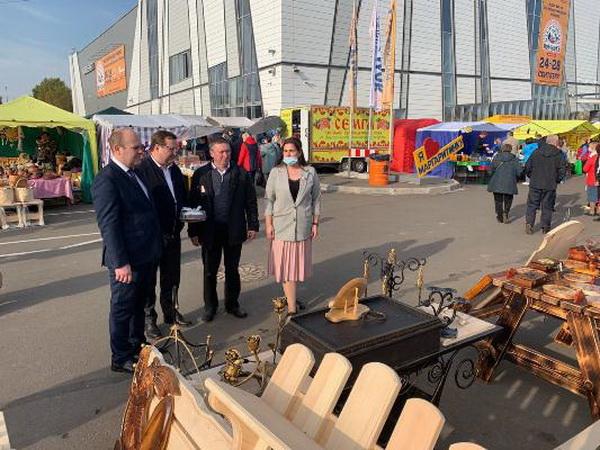 Продукция УФСИН России по Архангельской области представлена на Маргаритинской ярмарке