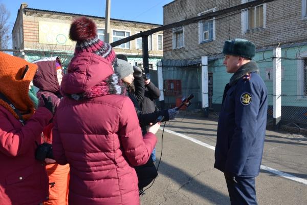 Пресс-тур состоялся в ИК-41 ГУФСИН России по Приморскому краю для освещения праздника Крещения Господня