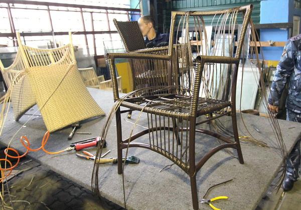 Производство плетеной мебели в татарстане
