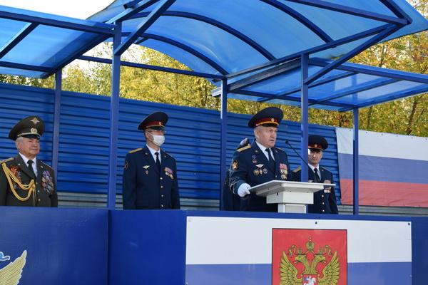 Первокурсники ВЮИ ФСИН России приняли Присягу
