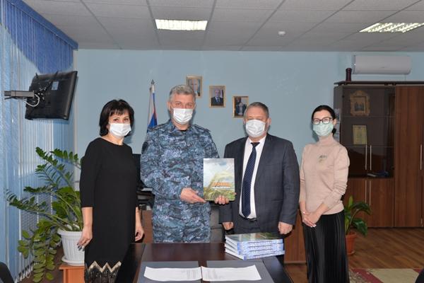 Библиотечные фонды учреждений УФСИН России по Оренбургской области пополнились новыми книгами