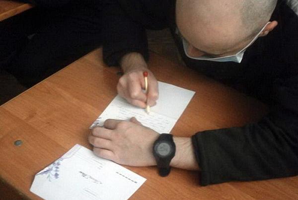 В исправительных учреждениях УФСИН России по Смоленской области состоялась акция «Письмо маме»