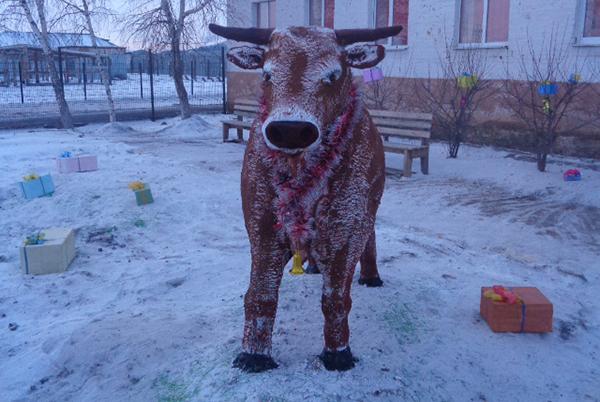 В исправительных колониях Иркутской области подвели итоги конкурса снежных фигур