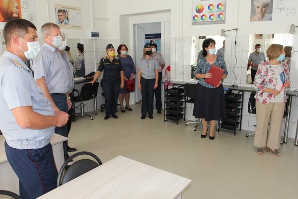 В профессиональном училище ИК-3 УФСИН России по Краснодарскому краю открылась новая специальность