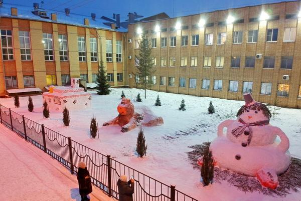 Более 15 тысяч голосов отдали за снежные фигуры курсантов ВИПЭ ФСИН России пользователи социальных сетей