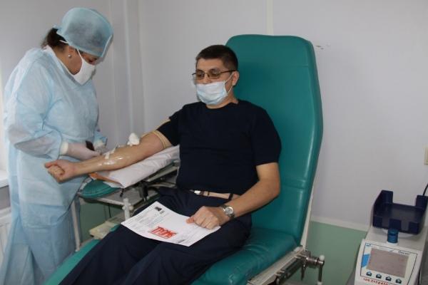 Сотрудники УФСИН России по Ульяновской области стали донорами крови
