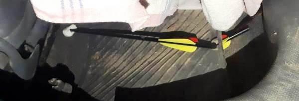 Сотрудники ИК-5 УФСИН России по Ивановской области предотвратили доставку запрещенных предметов с помощью арбалета